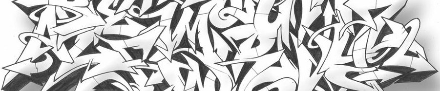 Cropped Mad Wild Style Graffiti Alphabet Black White Best Photo 01 Image Wallpapers